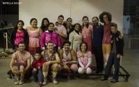 Atores, diretor e moradores. Foto: Ramilla Souza
