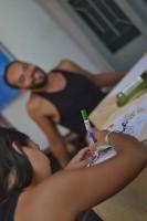 Primeiro dia de Ateliê. Foto: Ramilla Souza