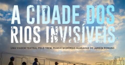 A cidade dos rios invisíveis<br/>(08/06/2019, às 14:00)