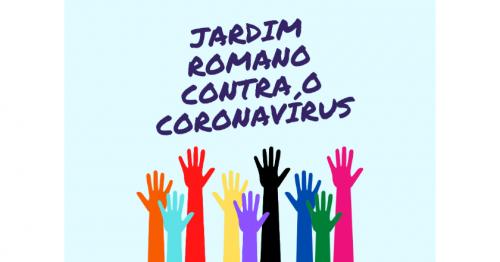 Campanha contra o coronavírus no Jardim Romano<br/>(13/04/2020, às 10:00)